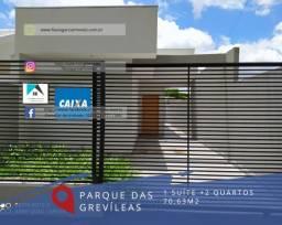 8344   Casa à venda com 3 quartos em Parque Das Grevíleas, Maringá