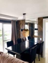 Apartamento com 2 dormitórios para alugar, 73 m² por R$ 1.800,00/mês - Capão Raso - Curiti