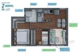 Apartamento à venda com 2 dormitórios em Belém, Sao paulo cod:FP2205