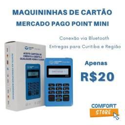 Máquininha de Cartão Sem Mensalidade Mercado Pago Point Mini