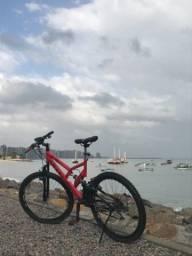 Bicicleta Aro 26 Vermelha Colli