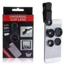 Lentes Clip Universal p usar no celular