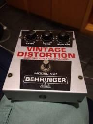 Pedal VD1 Distorção Behringer