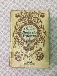 Título do anúncio: (Aceito cartão) Livro Boca do inferno de Ana Miranda