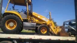 Prestação  de serviços  máquina é caminhão