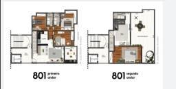 Título do anúncio: Magnífica cobertura duplex com 4 quartos, 180 m², 3 vagas no Granbery