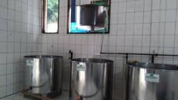 Alambique e equipamentos para produção de cachaça