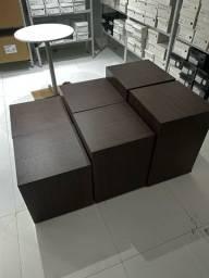 Cubos para exposição de produtos ( calcados, roupas e etc )