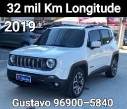 Renegade 2019 Longitude 32 mil km Único dono