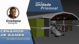 Modelos 3D - Unidade Prisional- Arquiteturas para criar cenários para Game