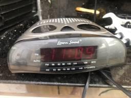 Rádio relógio Lenoxx