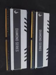 Título do anúncio: Memória Ram DDR4 2x 4gb