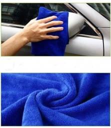Título do anúncio: Pano limpeza automotiva 70*30cm absorção de água sem rastros micro fibra uso doméstico