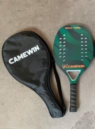 Título do anúncio: 4 raquetes camewin 3 bolinhas Optum