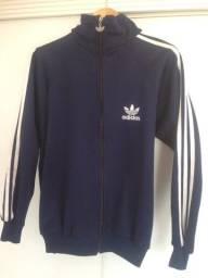 Título do anúncio: Jaqueta Adidas Bordada Azul Marinho