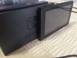 Nintendo Switch Cinza e Preto 32GB   Perfeito Funcionamento   9 Jogos Digitais