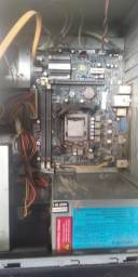 Título do anúncio: kit Intel Processador Intel Core 2 Quad Q8400 e Placa  LGA 1155