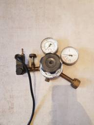 Regulador pressão CO2 e válvula solenoide