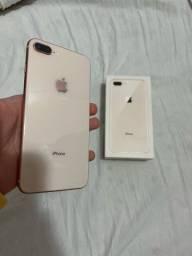 Título do anúncio: iPhone 8 Plus Dourado