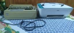 Duas impressoras para conserto ou retirada de peças .