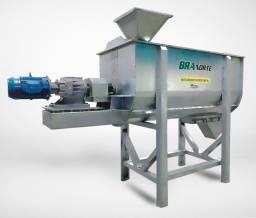 Misturador de Ração Horizontal - 1000 kg