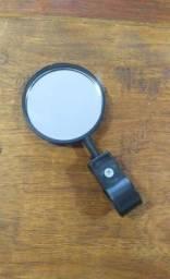 Espelho retrovisor p/ bicicleta, pouquíssimo uso!!