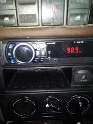 Rádio com bt, usb atend telefone, com nota fiscal