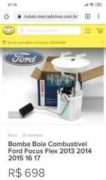 Bomba de combustível Ford Focus flex 2013, 2014, 2015, 2016 e 2017