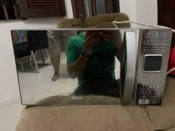 Vendo microondas com defeito