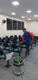Lavagem a seco em cadeiras de escritório!!!.