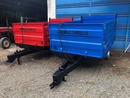 Título do anúncio: Carreta agrícola metálica 5 ton
