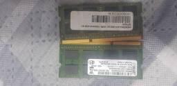Título do anúncio: Memória RAM DDR3 para notebook 4gb