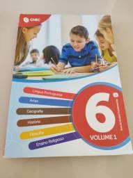 Livros 6 ano volume 1 cnec