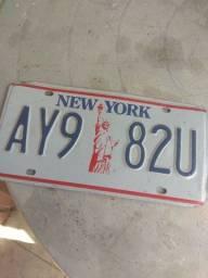 Placas Americanas Carro