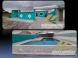 Título do anúncio: Excelente casa de 3 quartos com piscina de alvenaria e área gourmet em Unamar, Tamoios - C