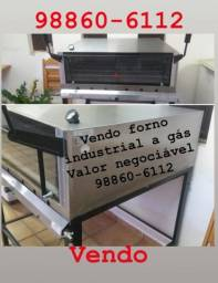 Vendo forno industrial a gás