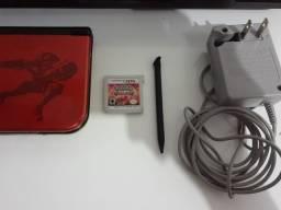 Título do anúncio: nintendo 3ds xl vermelho com marelo + pokémon omega ruby
