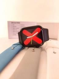 Smartwatch Iwo W46 + Pulseiras Extras Cores Neutras + Envio Rápido