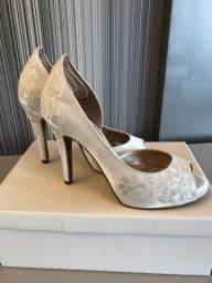 Sapato noiva off white