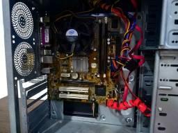 Gabinete processador Pentium Dual Core 2.6 com SSD