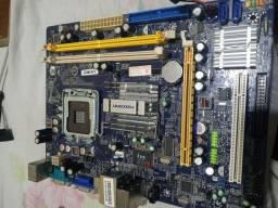 Placa mãe foxcom Intel ddr2