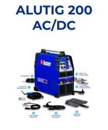 Título do anúncio: Máquina ALUTIG 200 Nova