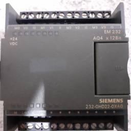 Expansão Analógica S7-200 Siemens EM 232 AQ4 x12Bit