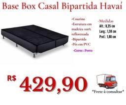 Título do anúncio: Base box Casal Bipartida Havaí/ Frete à consultar.