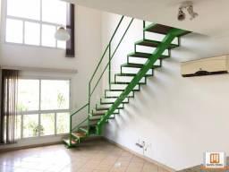 Título do anúncio: Apartamento (flat) 1 dormitórios/suite, cozinha planejada, portaria 24hs, lazer, salão de