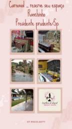 Título do anúncio: Ranchinho seu espaço de lazer, festas e eventos.