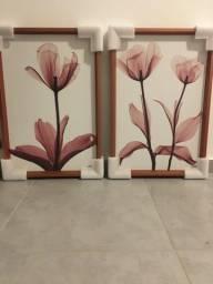 Quadros com moldura Chanfrada Tulipa