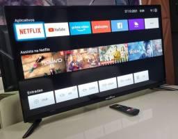 """Título do anúncio: Tv smart Britânia 40"""" Polegadas Full HD - controle original - impecável -estado de nova"""