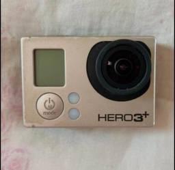 Título do anúncio: Gopro 3+ câmera action com acessórios