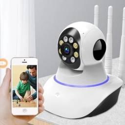 Queima de  Câmeras IP.  Robô ultra 20x. Wifi . Sem fios